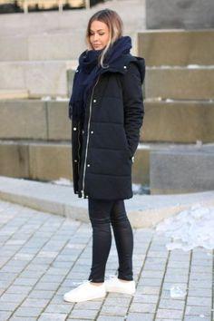 Minimum - Algerine Parkas Navy Winter Jackets, Navy, Fashion, Winter Coats, Hale Navy, Moda, La Mode, Fasion, Fashion Models