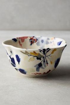 Wildflower Study Bowl