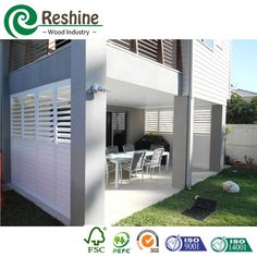 Source PVC foam extruded exterior plantation shutters on m.alibaba.com