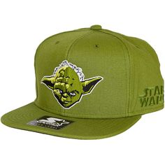 Starter Cap Star Wars Face Yoda
