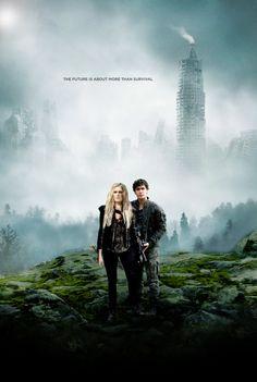 The 100 - Clarke and Bellamy - Season 3 (ensemble poster)