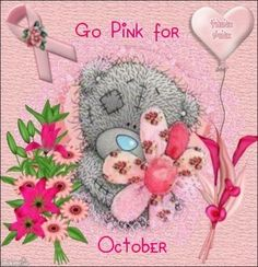 Think Pink... Go Pink... Support Pink....
