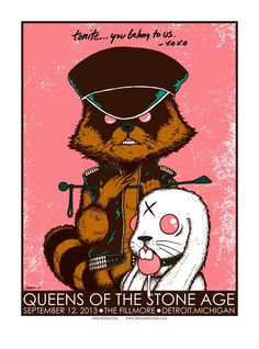 Queens Of The Stone Age - Jermaine Rogers - 2013 ----