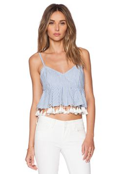 RISE OF DAWN TOP CORTO PRETTY GINGHAM
