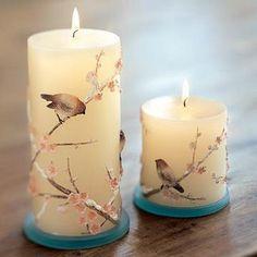 Homemade Candle Making | heaven's garden