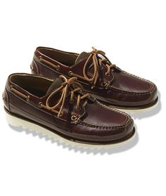 Signature Marshall Point Boat Shoes, Ripple Sole - LL Bean Intl