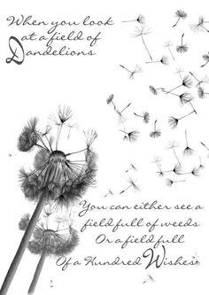 Dandelion breeze.