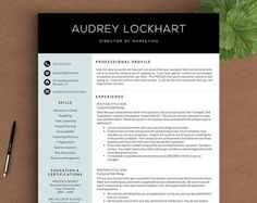 modern resume template for word and pages 1 3 page resume cover letter tips us letter a4 modern cv template instant download