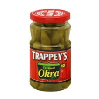 Cocktail Okra - a little bit of spice and everything nice -- trappeys.com #trappeys #okra #pickled