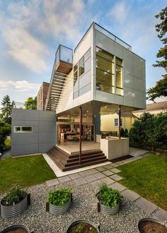 Casa Lark House / Stephenson Design Collective, Washington http://www.arquitexs.com/2015/03/casa-lark-house-stephenson-design-Collective-Washington.html