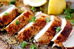 20 perces, villámgyors pác, amitől biztosan puha lesz a csirkemell - Receptek   Sóbors High Protein Recipes, Protein Foods, Diet Recipes, Chicken Wings, Pesto, Pork, Dinner, Vegetables, 10 Top