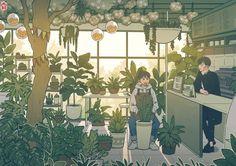 Pretty Art, Cute Art, Aesthetic Art, Aesthetic Anime, Dibujos Cute, Scenery Wallpaper, Cartoon Art Styles, Kawaii Art, Anime Scenery