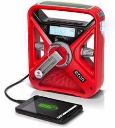 It's hurricane and tornado season for us southerners. Red Cross FRX3 Eton Emergency Radio @ Red Cross Store