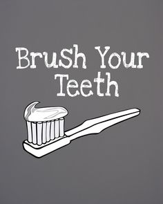 Brush+Your+Teeth+-+Gray.jpg (1280×1600)
