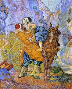 The Good Samaritan by Vincent Van Gogh
