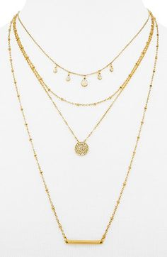 BaubleBar 'Tahiti' Layered Necklace available at #Nordstrom