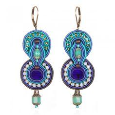 Charm & Chain | Indigo Earrings - Dori Csengeri - A-Z Designers - Designers