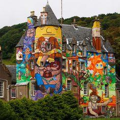 Ha ha ha I like that house