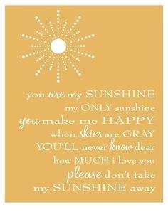 Sunshine - sunshine quotes