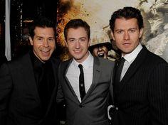 James Badge Dale Photos Photos - (L-R) Actors Jon Seda, Joe Mazzello and James…
