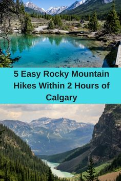5 Easy Rocky Mountain Hikes Within 2 Hours of Calgary - Hike Bike Travel Camping Places, Places To Travel, Places To See, Travel Destinations, Travel Tips, Backpacking For Beginners, Alberta Travel, Visit Canada, Canada Trip
