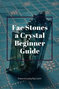 """What crystal is the best to use for attracting faeries? Turns out there is no """"one"""" stone. It all depends on your fae friends' preferences Magick Book, Magick Spells, Witchcraft For Beginners, Eclectic Witch, Traditional Japanese Tattoos, Gothic Fairy, White Witch, Lowbrow Art, All Nature"""