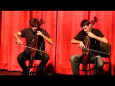 ▶ 2Cellos - With or without you - YouTube