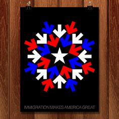 Immigration by Gabriel Benderski for What Makes America Great by Creative Action Network - 2