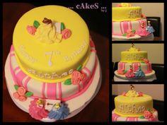 Princesses Themed Cake