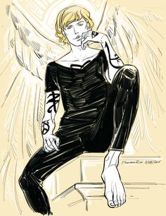 "Jace, the angel boy) (""the Mortal Instruments"" by..."