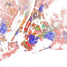 The guy who did the last map is the same guy who did all those ethnicity maps of American cities a while back, like this one for NYC. In my Chinatown apartment I am a single red dot in greenville.