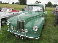 1953 Lanchester LJ200 at Breamore House classic car show