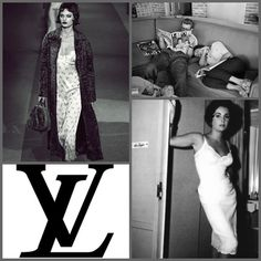 Collection: Louis Vuitton FW13/14  Inspiration: Elizabeth Taylor and 50s movie stars. The ultimate luxury of dressing up and not going anywhere.
