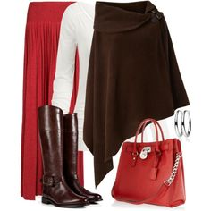 Maxi Skirt for Fall, created by wishlist123 on Polyvore