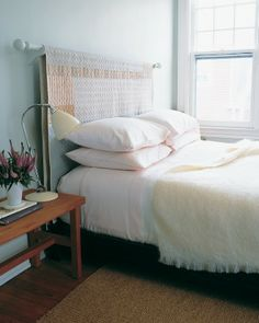 "See the ""Quilt Headboard"" in our Good Things for the Bedroom gallery"