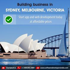 #Startup, #Entrepreneurs Building business in #Sydney, #Melbourne, #Victoria. Start app and web development today at affordable prices. Call 408.802.2885 or email team@sdi.la for free consultation.