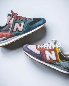 """New Balance ! New Balance 574 Custom (by memyselfnmykickz) New Balance """"Yard Pack"""" ➖buy at New Balance Made in England New Balance Marblehead/steel Mens Shoes Boots, Men's Shoes, Shoes Style, Shoe Boots, Shoes Sneakers, Sneakers Style, Adidas Shoes, Adidas Men, New Balance Sneakers"""