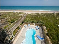 one of my favs - ocean front w/ pool - B lot but nothing in front of it. but quite pricey at $4500