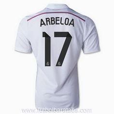 Nueva camiseta de Arbeloa 1st Real Madrid 2015 baratas