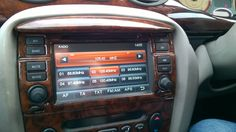 Android double din stereo in Rover 75, it is a Dynavin D99 plus purchased from radio guy