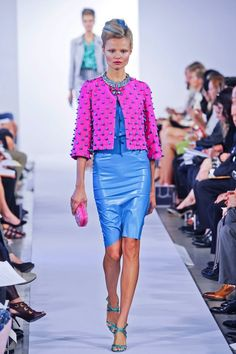 Oscar Knows girls just wanna have fun!   O De La Renta Spring 2013