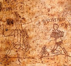 Gladiators, Pompei.