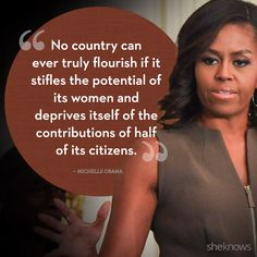25 quotes from powerful women -- Michelle Obama is so inspiring!