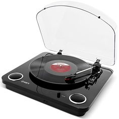 ION Audio Max LP   Belt-Drive Turntable with Built-in Stereo Speakers and USB Conversion - Piano Black The ION Max LP is a turntable with a good looking wood finish. With a USB output to allow connection to a PC or Mac and conversion of your vinyl collection into digital f (Barcode EAN = 0812715018795) http://www.comparestoreprices.co.uk/january-2017-1/ion-audio-max-lp- -belt-drive-turntable-with-built-in-stereo-speakers-and-usb-conversion--piano-black.asp