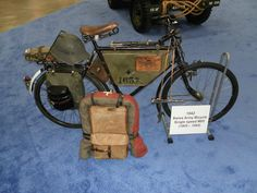 Swiss Military Bike 1942 - looks just like todays model...a testament to good design
