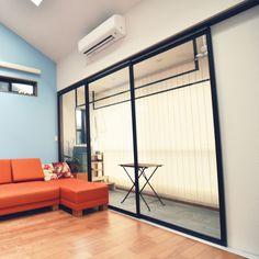 naeさんの、部屋全体,物干し竿,注文住宅,ランドリールーム,インナーテラス,のお部屋写真