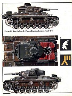 Panzer III Ausf J of the Panzer Division, Russian front 1941 - pin by Paolo Marzioli Panzer Iii, Tank Armor, War Thunder, Military Armor, Tiger Tank, Engin, Ww2 Tanks, Battle Tank, World Of Tanks