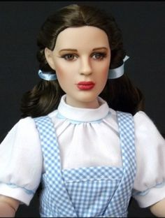 About Dorothy Gale Judy Garland: with make up enhancement and applied lashes