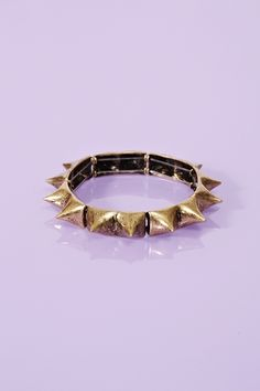 Totally Spiked Bangle