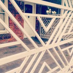 This fab #aztec detail fence was discovered in #richmond #melbourne #wearehuntly  http://www.wearehuntly.com.au